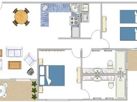 Port Douglas apartment floorplan